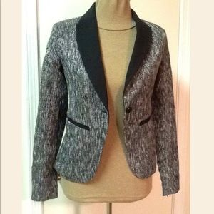 Mossimo - Black/Gray/White/Silver Jacket - Size 2